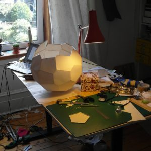 making a polyhedron cropped