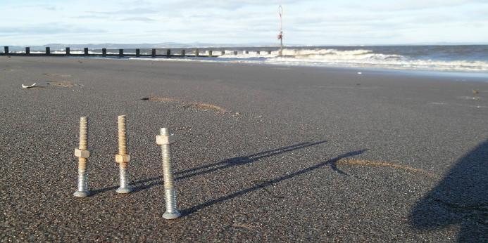 bolts on beach 1