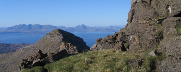 Hellaval and Skye from Askival